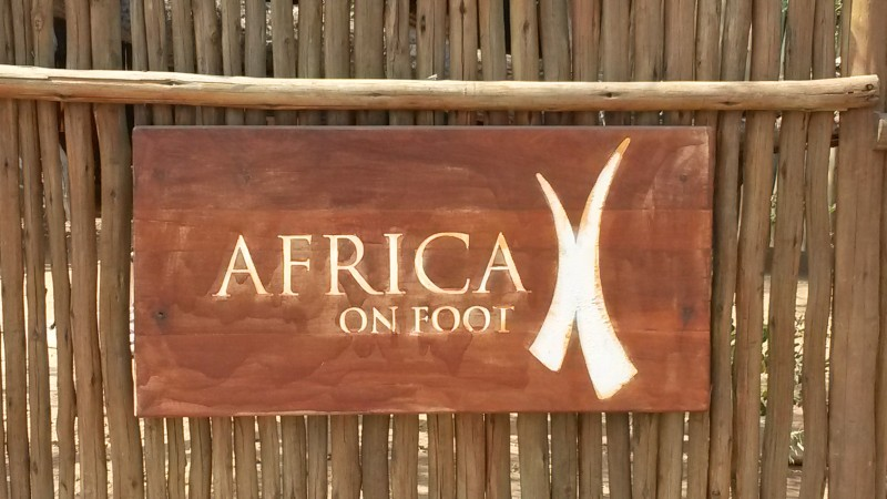 You Ain't Done The Bush Till You've Been To Africa On Foot